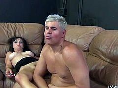 Buxom brunette Cytherea rides her lover's rigid dick like a cowgirl