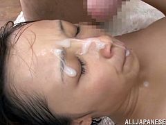 A super sexy, young Asian pornstar with small, natural tits, a hairy pussy and hot ass enjoys a hardcore doggy style fuck. Hear her scream with pleasure now!