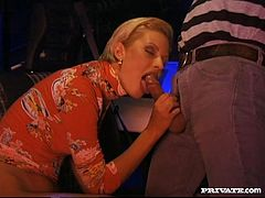 Juicy Suzan Nielsen Gets Car Fucked By Two Guys In A MMF