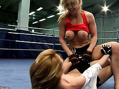 Blonde spends her sexual energy with lesbian Tanya Tate