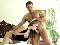 Brooklyn Chase Gets Fucked By Steven St. Croix Doggystyle