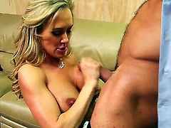 She is a beautiful blonde with lovely tits. she wants a job so much she seduces the producer.  Brandi Love and Karlo Karrera star in this hardcore flick with plenty of cock sucking and pussy munching.