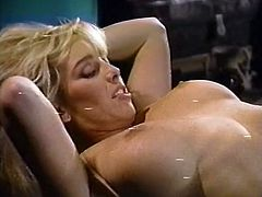 Lusty blond sex doll in black boots gets her wet twat eaten tough by her torrid brunette kooky. Later they change places. Look at that hungry lesbos in The Classic Porn sex video!