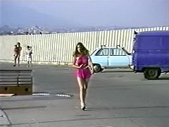 Curly haired filthy wench licks throbbing pussy of her torrid kooky in 69 style and gets the same from her helpmate. Have a look at that steamy lesbian fuck in The Classic Porn sex clip!