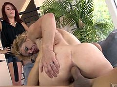 If you love anal sex then this hot sex video is for you. Cock crazed mature slut just can't get enough of her lover's dick. She rides his meat stick passionately like a true cowgirl.