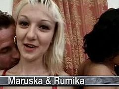 Maruska, Rumika Powers, David Perry & a guy