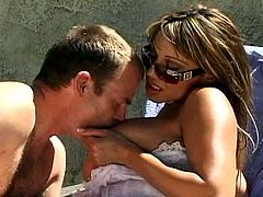 Sweet Ava Devine Has A Wild Threesome With Two Guys