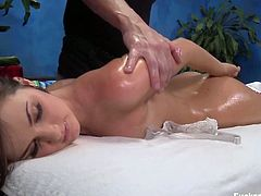 Pussy massage for Lily Carter