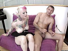Mr. Pete is one hard-dicked dude who loves fucking Misti Dawn in her anal hole