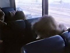 While riding a bus that light haired torrid bitch looked through some porn magazine and starved for sex. She went out and tried to seduce any guy. She looked for job...Look at that dirty sluts in The Classic Porn sex video!