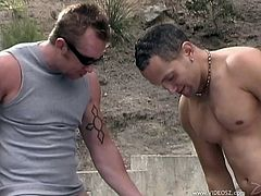 Sexy Asian Babe Gets Nailed In An Outdoor Threesome