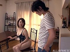 Horny Asian Babe Gets A Hot Rim Job