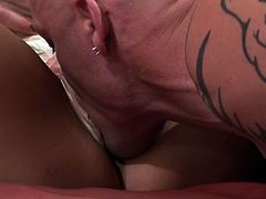 If you like threesomes then this passionate sex video is worth your attention! Effortlessly seductive chicks do their best to wear this lucky bastard out. One of them is riding his dick and another is riding his face.