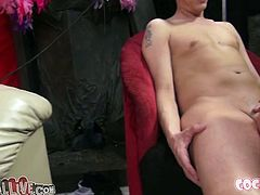Full bosomed rapacious blondie participates in perverted group fuck. Being more experienced she deserved nice cunnilingus. But after that she got her mouth fucked hard. Watch this hot group fuck in My XXX Pass sex clip!