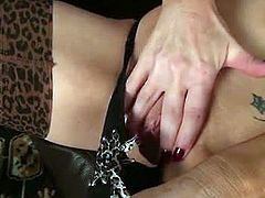 Hot cougar Emma Jane always pleasuring herself with sex toys. She is not contented with just fingers and all that shit. She enjoys the pleasure it brings especially huge dildos.
