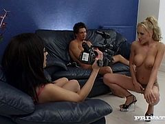 Busty Blonde Whore With Fake Tits Gets Drilled And Filmed