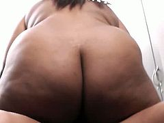 BBW Secret brings you a hell of a free porn video where you can see how this alluring ebony bbw brunette gets banged very hard into a breathtaking orgasm by a white dude.