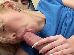 Young gal is about to have her wet butt hole enlarged by a big dick eager to cream her well