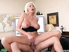 Xander Corvus loves always wet warm fuck hole of Unbelievably hot slut with massive jugs