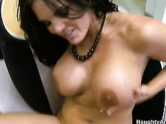 Billy Glide gets pleasure from fucking Mackenzee Pierce with big breasts and smooth bush