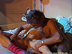 The lovely Patricia Violet gets stripped off her cute little panties and takes a hard fuck from her lucky husband after a romantic dinner.