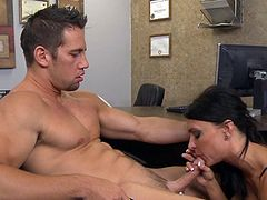 Johnny Castle fucks with brunette Jessica Jaymes