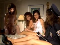 Four vintage lesbians start a wild private party in this breathtaking free porn video set by the folks at Classic Porn Scenes. They definitely know how to misbehave!