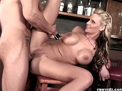 Raw Vidz brings you a hell of a free porn video where you can see how the busty blonde Phoenix Marie gets her cunt banged deep and hard into a breathtaking orgasm.