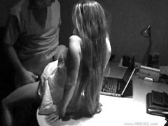 Take a look at this hidden camera video where this horny babe is nailed by this guy's thick cock as you can imagine her moans.