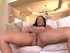 Bootyful goddess gets her snatch licked and rides white dick in a reverse cowgirl pose. Thereafter she gets her tight punani hammered mish and doggystyle.