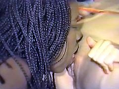 At first black gal munches stretched pussy lips on seductive oriental chick. Then she sits on her face and gets her muff licked. Be pleased with two voluptuous babes for free.