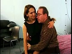 This video features hot European milf Christina Ponzi talking sweetly and dirty to Ed about having sex right there right now. They didn't know who will initiate they are having a talk.