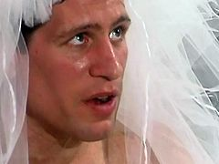 This horny sexy bride gets one last fuck before getting that ring on her finger and enjoys every inch of that hard cock.