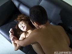 What are you waiting for? Watch this long haired babe, with a nice ass wearing panties, while she goes really hardcore in an office.