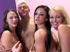 Aaliyah Love, Jennifer White, Porno Dan And Sandy Ambrosia Have Group Sex