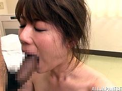 Have fun with this hardcore scene where this horny Asian babe is fucked silly by this guy as her moan penetrate your ear and make your dick hard.