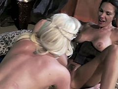 Spencer Scott as Daynares Targaryen is a perfect fit. They both have fresh luscious body and yummy goodies. Look how your fantasy comes to reality in a lesbian way as she finger fuck her slaves.