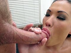 That curvy Asian ass sure needs proper drilling from hunk in need to hear London Keyes scream like sluts