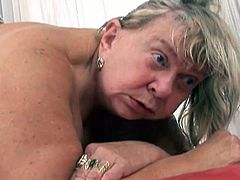 Lustful granny needs a big black cock to satisfy her hunger for sex