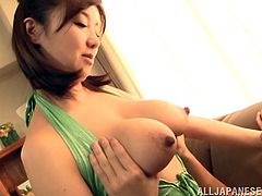Big Tits Asian Whore In Stockings Gets Her Pussy Fingered And Fucked