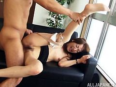 Take a look at this hardcore scene where this mature Asian is fucked by this guy in her office as you hear her moan.