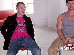 Cindy Hope and Nelly Sullivan go to a sexaholics meeting where they meet guys who are crazy about fucking and they don't abstain from it, but do more with those hotties.
