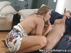 Danny Wylde plays hide the salamy with Dyanna Lauren