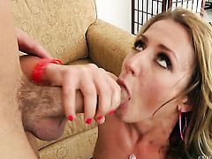 Will Powers plays hide the salamy with Sheena Shaw in anal sex action before she gives headjob