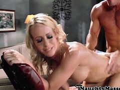 Simone Sonay sucking and fucking dick
