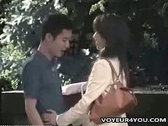 Voyeur 4 You brings you a hell of a free porn video where you can see how these Asian couples get caught misbehaving in public without knowing their being filmed!