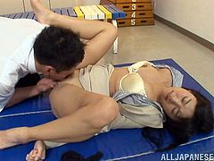 Magnificent Sayuki Kanno Gets Her Pussy Licked Before Getting Fucked