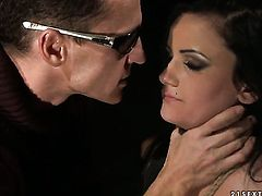 Estella gets used like a fuck toy by hard cocked guy in hardcore action