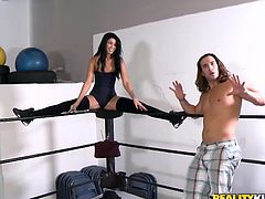 Money talks a lot and some babes know how to listen. Check it out what we brought you this time! From a sweet brunette ready to get dirty in a rodeo sex machine in a van all the way to a wrestling arena where someone will surely gonna get pounded. So, sit back relax and enjoy the show!