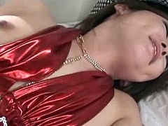 Busty Asian Porn Star gets banged